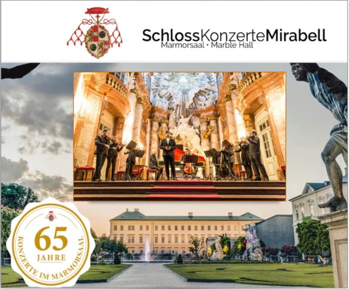 Ensemble 1756 on period instruments - Welcome to the Palace where Mozart  used to play his timeless pieces. The Baroque Marble Hall of Mirabell Palace is considered to be one of the most beautiful and historically significant concert halls in Austria.