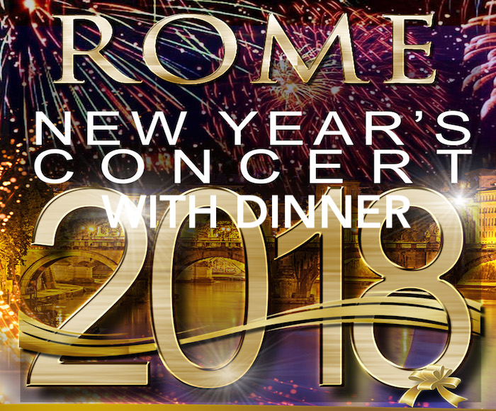New Year's Concert in Rome with Dinner