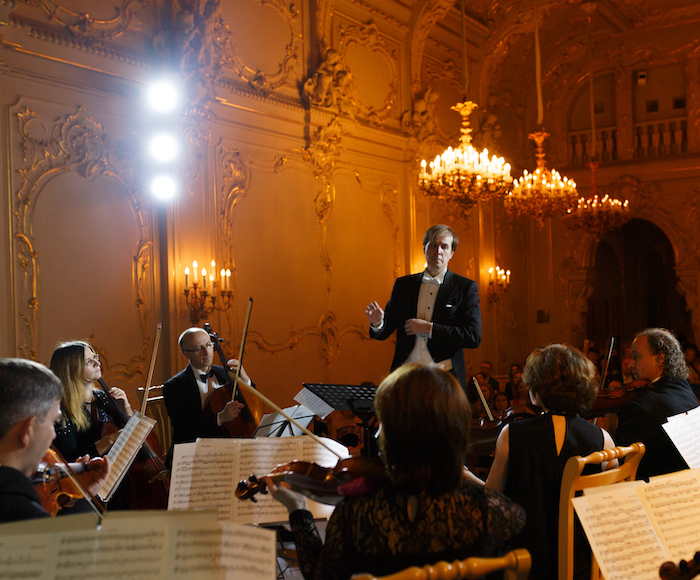 Show-concert of classical music in A la Russe style in the heart of St. Petersburg.  Enjoy the reception with a glass of sparkling wine and experience an exclusive tour through the Vladimir Palace, as the Palace itself is closed for the regular visitors.