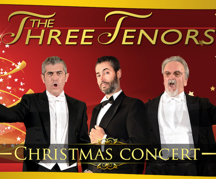 The Three Tenors in Christmas Concert