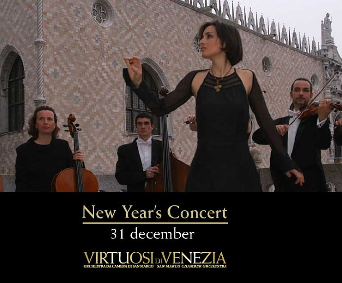 December 31st, 2017 at 6PM - Selected Opera Arias - At the end of the Concert the Orchestra