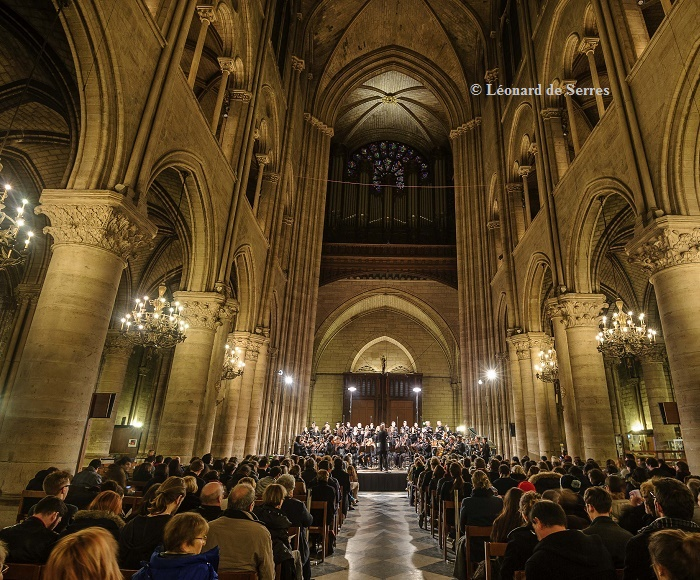 Maîtrise Notre-Dame de Paris, boys, young and adult choirs - Orchestra and Soloists from Paris Conservatory - David Reiland, Conductor