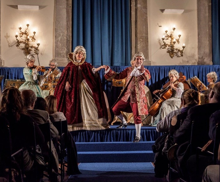 I Musici Veneziani in an Opera Concert perform the most beautiful arias of the Baroque lyrical tradition, performed in original 18 century dress