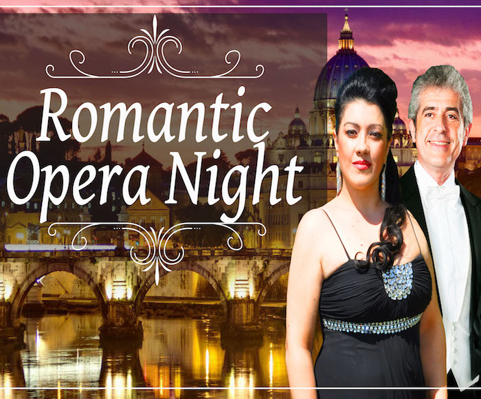 A Night of Romantic Opera will take the audience into a special, unique night in the heart of Rome.
