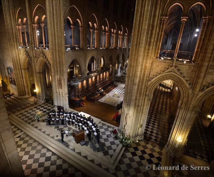 Concert de Noël de la Maîtrise Notre-Dame de Paris
