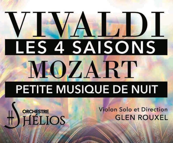 Les 4 Saisons de Vivaldi et Petite Musique de Nuit de Mozart