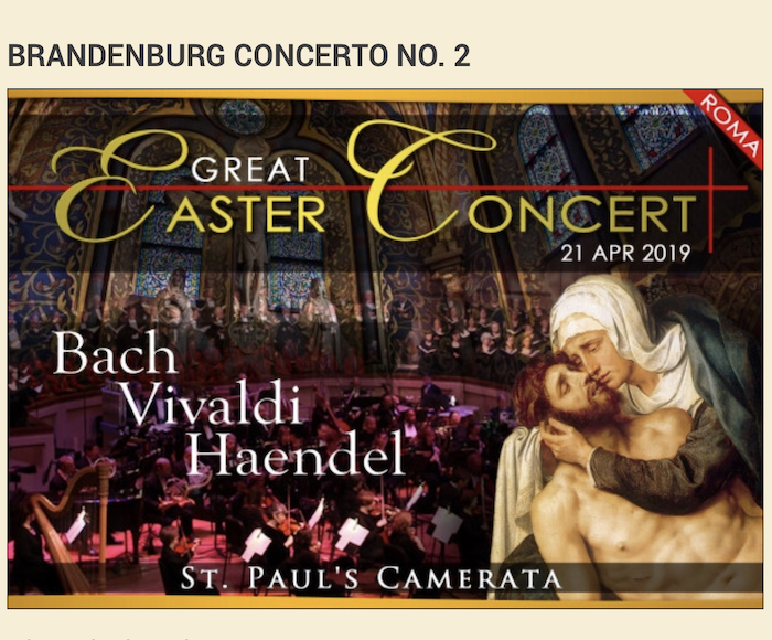 Brandeburg Concert No. 2