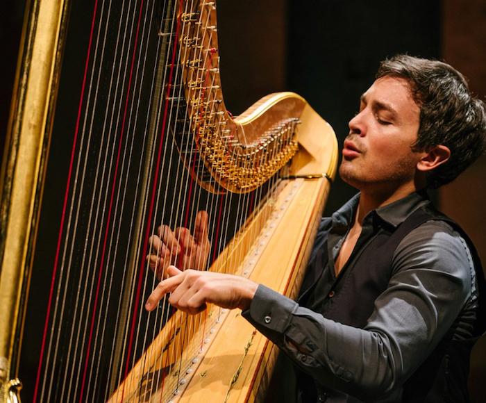 String Trio, Harp, Flute