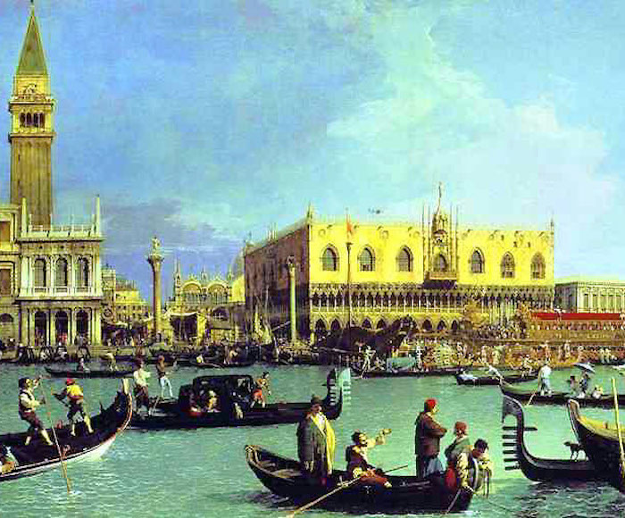 MUSIC ON THE GRAND CANAL - CANZONI DA BATTELLO