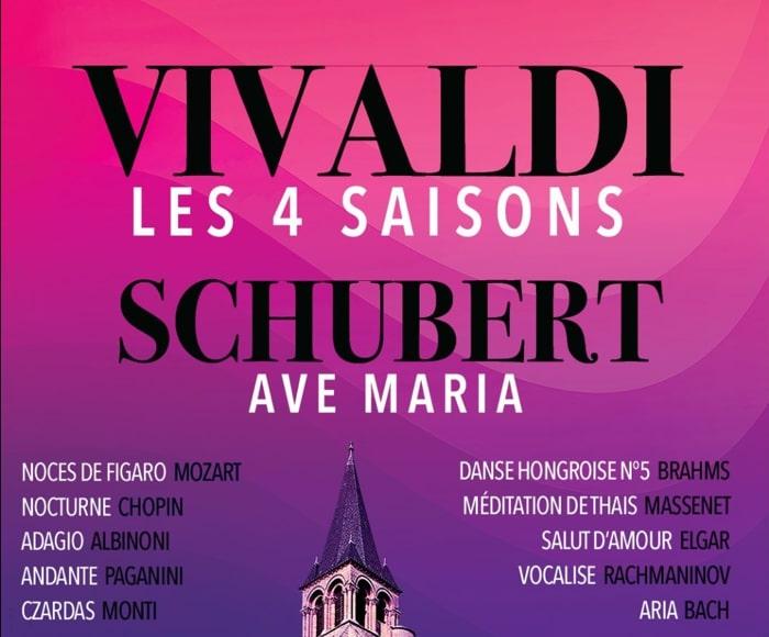 Les 4 Saisons de Vivaldi, Ave Maria de Schubert