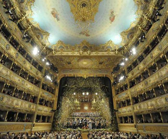NEW YEARS CONCERT AT LA FENICE THEATRE (December 29th 2018)