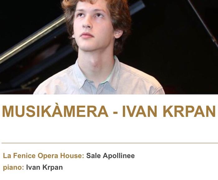 IVAN KRPAN Recital
