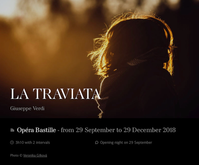 LA TRAVIATA (December 17th, 2018)