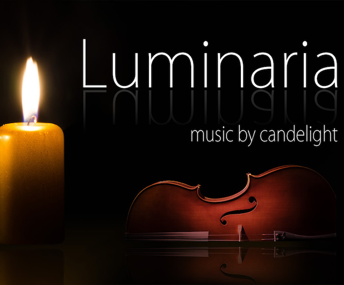 Luminaria, candlelight music