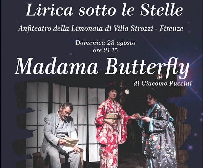 Opera under the stars - MADAMA BUTTERFLY