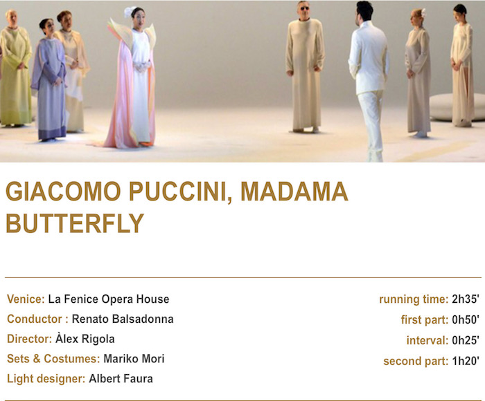 MADAMA BUTTERFLY (September 22nd, 2018)