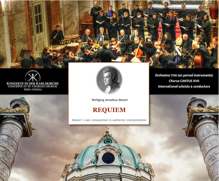 Mozart Requiem in Vienna