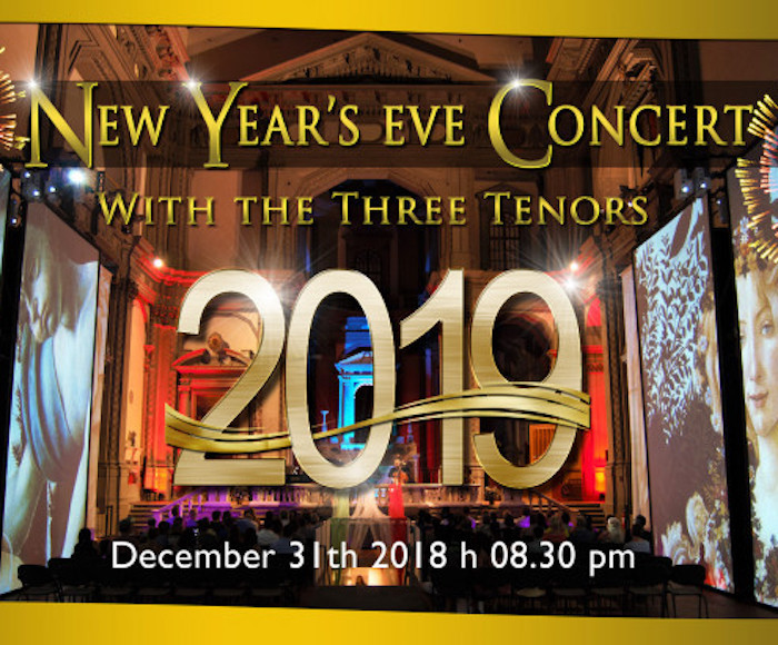 NEW YEAR'S EVE WITH THE THREE TENORS IN FLORENCE
