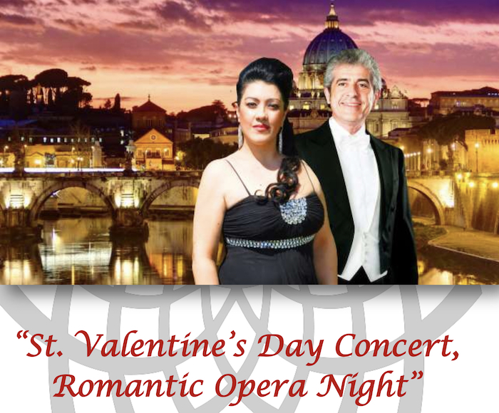 ST. VALENTINE'S DAY CONCERT, Romantic Opera Night