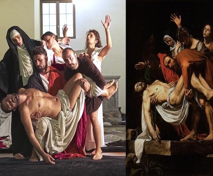 Tableaux Vivants da Caravaggio
