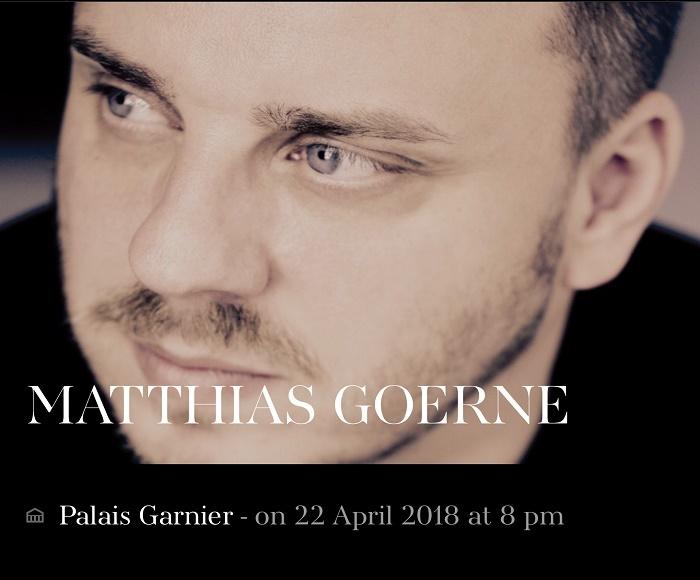 MATTHIAS GOERNE recital