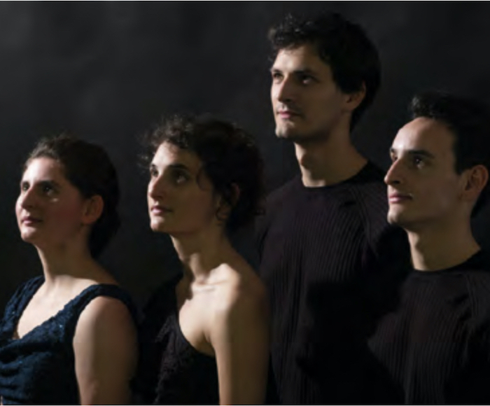 QUATUOR TCHALIK: Gabriel Tchalik, Louise Tchalik, violini - Sarah Tchalik, viola  - Marc Tchalik, violoncello - Attention: Since all the concerts of the festival will be filmed, access to the hall will not be allowed after the start time of the show.