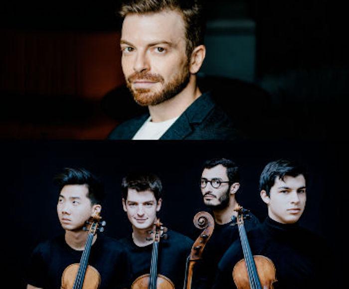 QUATUOR AROD: Jordan Victoria, Alexandre Vu, violini - Tanguy Parisot, viola - Samy Rachid, violoncello - David Kadouch, pianoforte