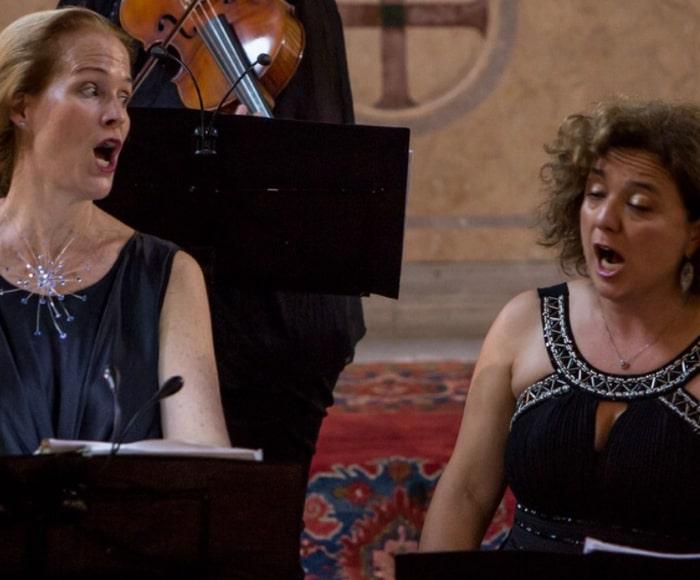 Musica di J.A Hasse, N. Porpora, A. Vivaldi  Liesl Odenweller, Soprano - Elena Biscuola, Contralto - Venice Music Project Ensemble