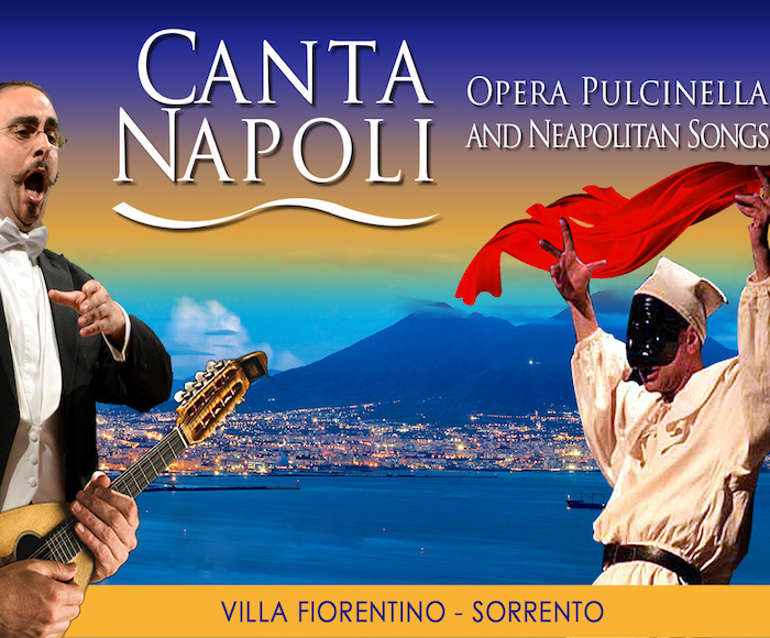 The fusion of Neapolitan tradition and the great Italian Opera takes place in the heart of Sorrento, in the splendid Villa Fiorentino.