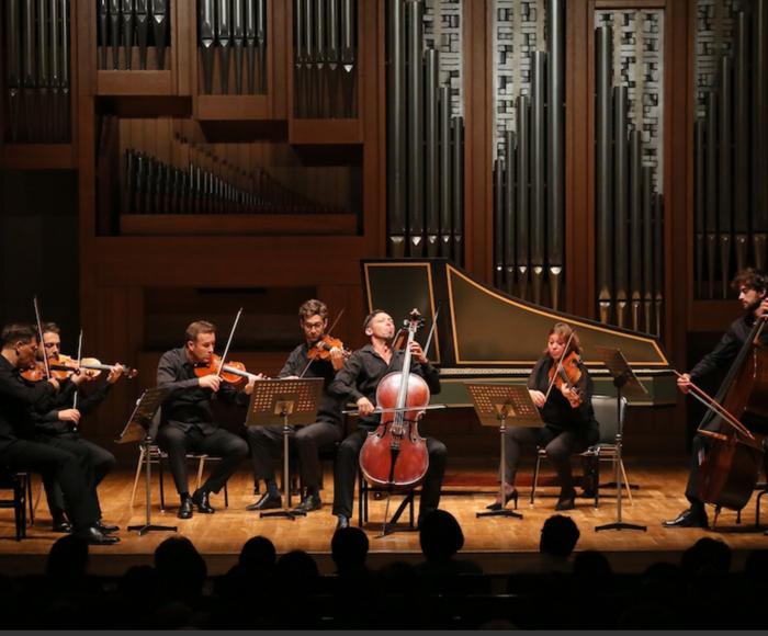 "Vivaldi: Concerto for violin op.4 n.10 la Stravaganza - Concerto for strings RV 120 - Concerto for violin op 8 n 10 ""La Caccia"" - Concerto for 2 violins RV. 507 - Concerto for cello RV. 413 - Bach: Concerto for violin, strings and harpsichord BWV 1041"