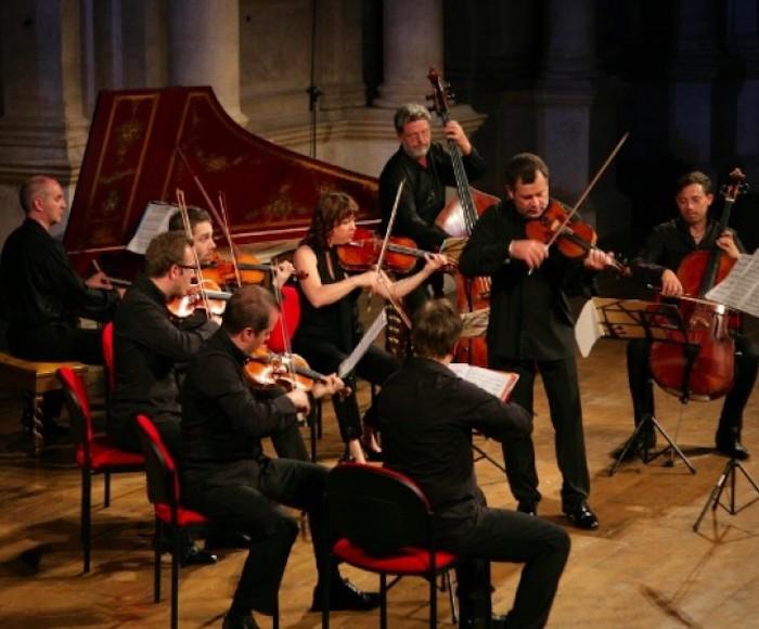 Vivaldi: Concerto for violin op. 9 n. 10 - Concerto for cello RV. 398 - Concerto for violin RV. 222 - Sinfonia for strings RV. 726 from the opera Olimpiade - Concerto for violin RV. 275 - Telemann: Concerto for viola, strings and harpsichor