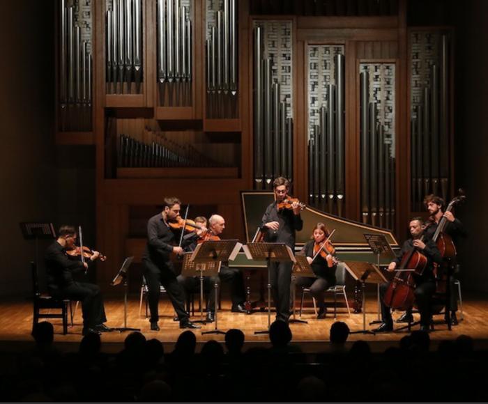 Vivaldi: Concerto for violin op. 9 n. 10 la Cetra - Concerto for violin op. 4 n. 9 la Stravaganza - Concerto for violin op. 6 n. 4 -  Concerto for strings RV. 146 - Corelli: Concerto Grosso for 2 violins, cello op. 6 n. 4 - Bach: Concerto for 2 violins, s