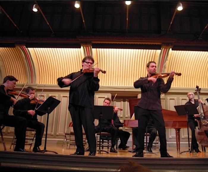 Vivaldi: Concerto for violin op. 9 n. 2 la Cetra - Concerto for cello RV. 421 - Concerto for violin  RV. 199 il Sospetto - Concerto for viola, cello, strings and harpsichord RV. 531 - Pergolesi: Concerto for violin, strings and harpsichord - de Sarasate: