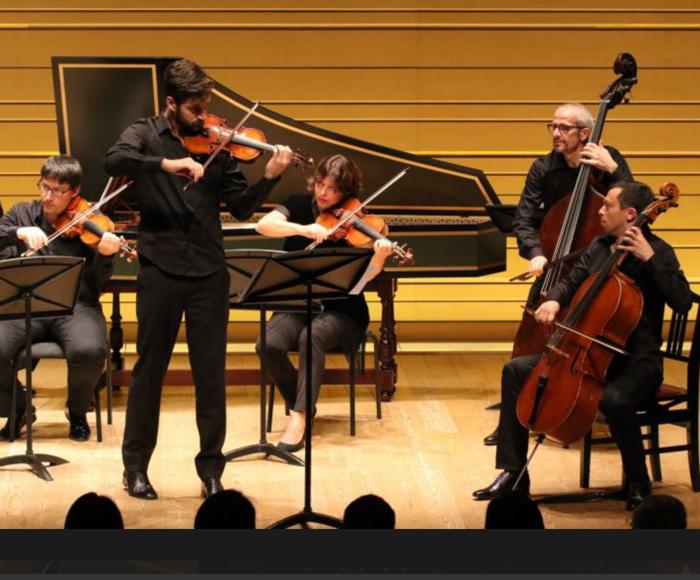Vivaldi: Concerto for violin RV. 189 per Carlo VI d'Austria - Concerto for piccolo RV. 443 - Concerto for flute op. 10 n. 6 - Concerto for 2 violins op. 3 n. 11 - Händel: Concerto Grosso for 2 violins op. 6 n. 10 - Saint-Saëns: Danza Macabra for violi
