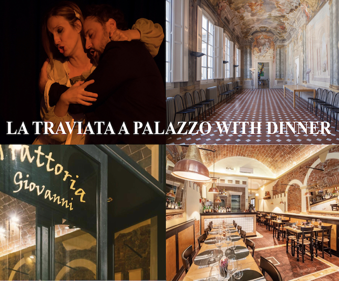 What could be better than listening to the beautiful melodies of La Traviata di Giuseppe Verdi after a typical Tuscan dinner? We give you the opportunity to nourish your body and mind with the purchase