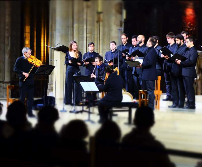 Ensemble vocal de Notre-Dame de Paris - Sylvain Dieudonné, conducting - Saint-Etienne-du-Mont Church