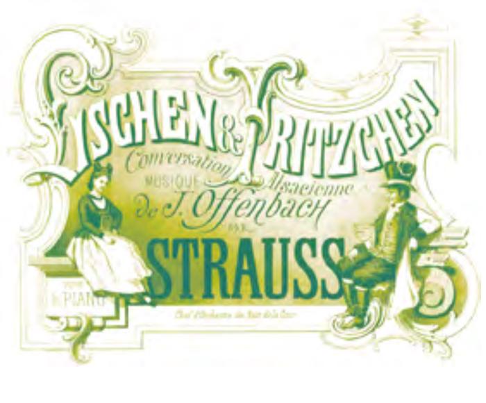 Offenbach: Lischen et Fritzchen - Wachs:  Un mari dans la serrure - Lischen / Thérézina, Adriana Bignagni Lesca - Fritzchen / Bigorneau:  Damien Bigourdan - Alphonse Cemin, pianoforte