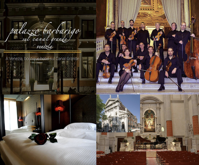 AT A SPECIAL PRICE spend your Christmas in Venice in one of the most luxurious ****Hotel on the Grand Canal and enjoy a marvellous Concert with Vivaldi's music performed in a suggestive church