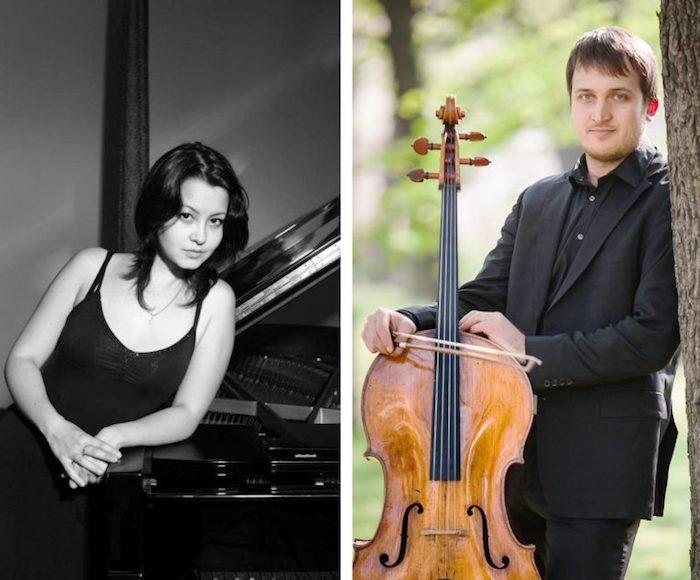Édouard LALO Sonata per violoncello e pianoforte - Albéric MAGNARD Sonata per violoncello e pianoforte in la maggiore op. 20 - DUO URBA: Marius Urba, violoncello - Vita Kahn, pianoforte