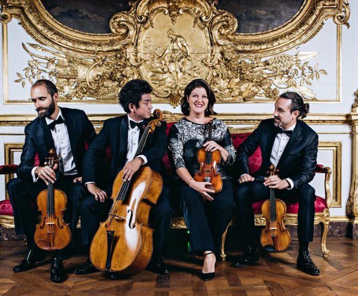 Alors que beaucoup de compositeurs romantiques ont hésité à se confronter au genre canonique du quatuor à cordes, Gounod y a consacré plusieurs opus, qui s'étalent sur une partie importante de sa carrière. CAMBINI-PARIS QUARTET