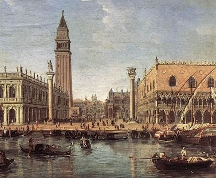 Music on the Grand Canal -Traditional Venetian Gondola Songs. Liesl Odenweller, Soprano Elena Biscuola, Contralto Venice Music Project Ensemble - Performed on period intruments