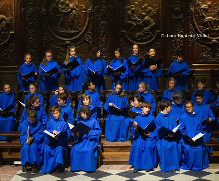 Renaissance, on the theme of the Virgin and the Love - Maîtrise Notre-Dame de Paris, Choir of children - Yves Castagnet, organo (of the choir)