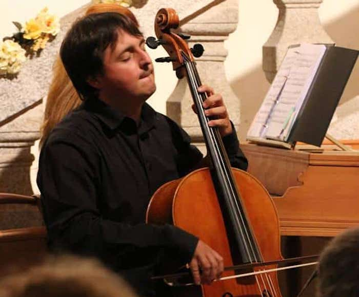 Venice Music Project is happy to feature the sweet sounds of the baroque cello in an all-new program of music by the great Venetian masters. Gioele Gusberti, Cello -